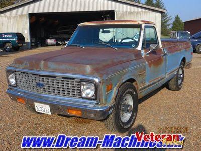 brugt Chevrolet C20 patina pickup