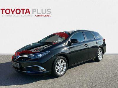 brugt Toyota Auris Touring Sports 1,8 Hybrid H2 Comfort 136HK Stc Aut. A++