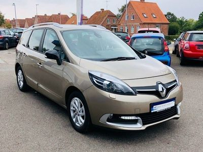 brugt Renault Grand Scénic III 1,5 dCi 110 Limited Edition ESM 7p