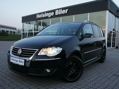 begagnad VW Touran 2,0 TDi 170 Highline DSG 7prs