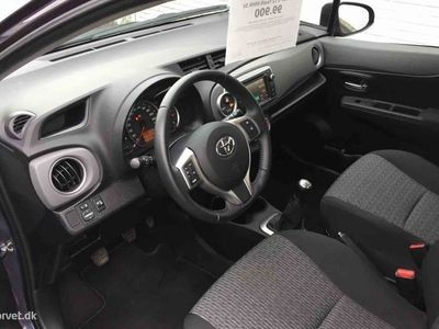 brugt Toyota Yaris 1,0 VVT-I T2 Touch 69HK 5d