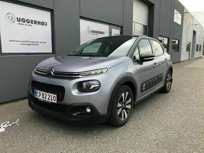 brugt Citroën C3 1,2 PureTech Triumph EAT6 start/stop 110HK 5d 6g Aut.