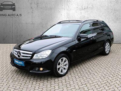brugt Mercedes C200 T 2,1 CDI BlueEfficiency 136HK Stc 6g - Personbil - sort