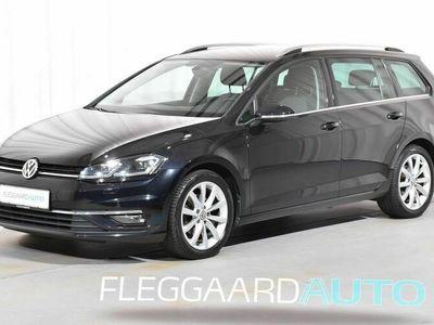 brugt VW Golf Variant 2,0 TDI Highline DSG 150HK Stc