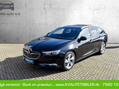 brugt Opel Insignia Sports Tourer 1,5 Turbo Dynamic Start/Stop 165HK Stc 6g Aut. - Personbil - sortmetal