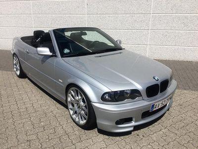 """brugt BMW 323 Cabriolet 2,5 NYE 19"""" BBS, gevind - KANON FLOT STAND"""