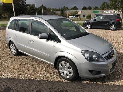 brugt Opel Zafira Enjoy 7-personer´s 1,8 140HK