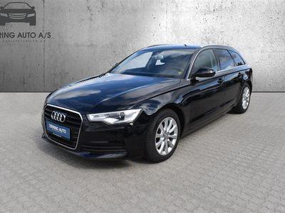 brugt Audi A6 Avant 3,0 TDI Multitr. 204HK Stc Trinl. Gear - Personbil - Sortmetal