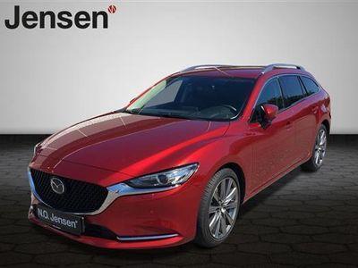 gebraucht Mazda 6 2,2 Skyactiv-G Optimum 150HK Stc 6g Aut.