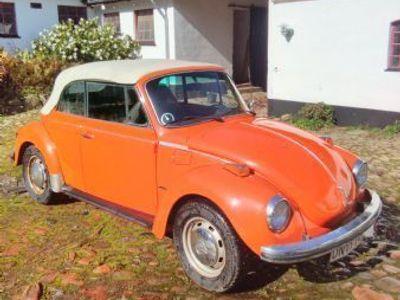 brugt VW Käfer LS cabriolet