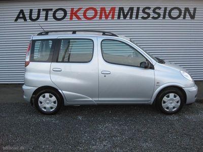 brugt Toyota Yaris Verso 1,3 Linea Sol 86HK