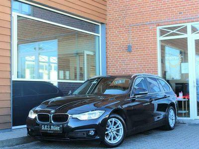 brugt BMW 320 d Touring 2,0 D Advantage Steptronic 190HK Stc 8g Aut. A+