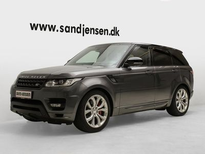 brugt Land Rover Range Rover Sport 3,0 SDV6 Autobiography Dynamic aut