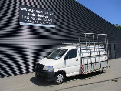 brugt Toyota HiAce Lang 2,5 D-4D a/c m/komf. 116HK Van 2011