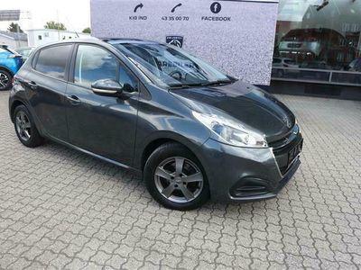 brugt Peugeot 208 1,6 BlueHDi More 100HK 5d