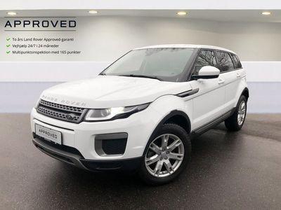 brugt Land Rover Range Rover evoque 2,0 TD4 150 Pure