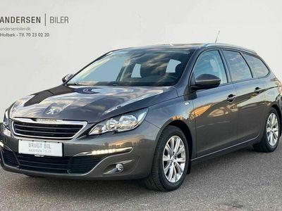 brugt Peugeot 308 SW 1,6 BlueHDi Style EAT6 120HK Stc 6g Aut.