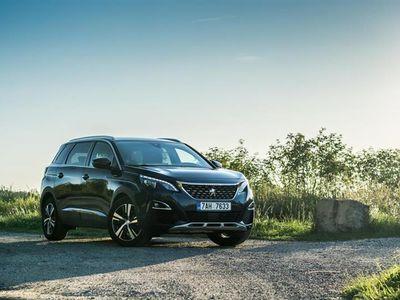 brugt Peugeot 5008 1,5 BlueHDi Allure Tech-Pack 130HK 6g - Personbil - Sortmetal