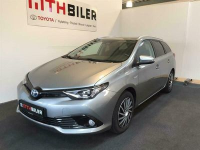 brugt Toyota Auris Touring Sports 1,8 Hybrid H2 Selected 136HK Stc Aut.