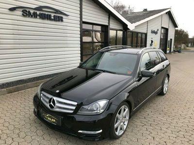 brugt Mercedes C300 3,0 CDi stc. aut. 4-M BE Van