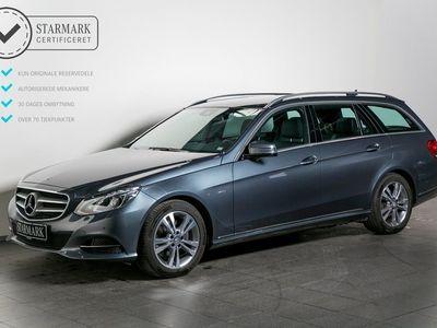 brugt Mercedes E350 0 BlueTEC st.car aut. 4-M