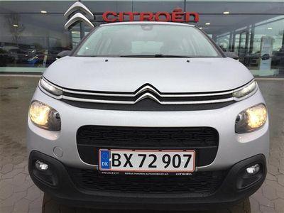 brugt Citroën C3 1,6 Blue HDi Iconic start/stop 75HK 5d