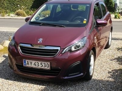 brugt Peugeot 108 1.0 e-VTi 69 hk 5D