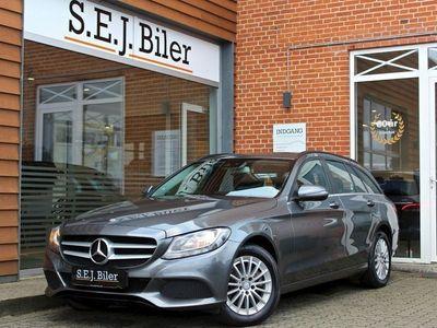 brugt Mercedes C220 d 2,2 stc. 170HK 5d