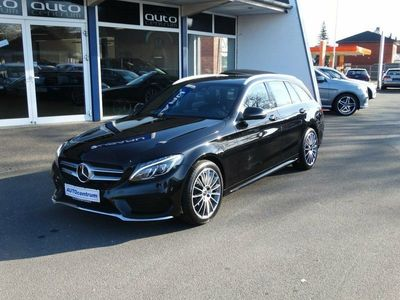 usata Mercedes C250 2,2 BlueTEC AMG Line stc. aut.
