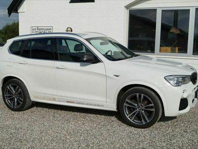 brugt BMW X3 xDrive30d M-Sport aut.