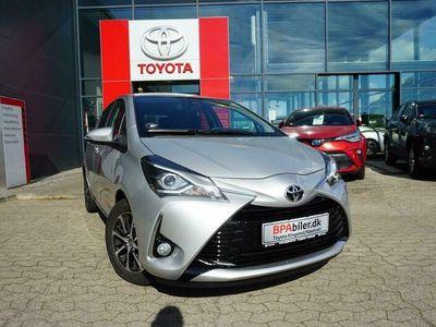 brugt Toyota Yaris 1,5 VVT-I T2 Limited 111HK 5d 6g A