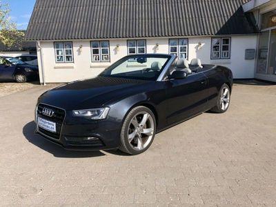 brugt Audi A5 Cabriolet 3,0 TFSi 272 quat. S-tr.