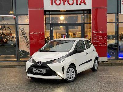 brugt Toyota Aygo 1,0 VVT-I X 69HK 5d A++