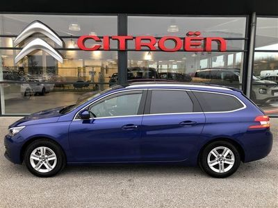 second-hand Peugeot 308 SW 1,6 BlueHDi Selection Sky 120HK Stc 6g