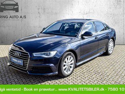 brugt Audi A6 1,8 T FSI Ultra S Tronic 190HK 7g Aut. - Personbil - mørkblåmetal