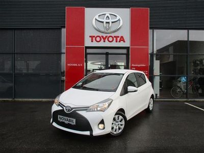 brugt Toyota Yaris 1,0 VVT-I T1 Style aircondition 69HK 5d