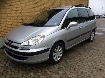 brugt Peugeot 807 2,2 HDI SR 130HK