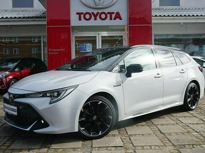 brugt Toyota Corolla Touring Sports 2,0 Hybrid H3 GR Sport E-CVT 184HK Stc 6g Aut.