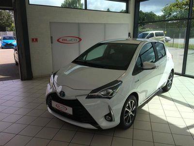 usata Toyota Yaris Hybrid 1,5 B/EL Premium Smart E-CVT 100HK 5d Trinl. Gear