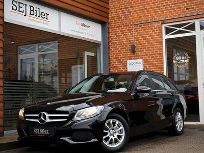 käytetty Mercedes C200 d 2,1 Business stc. 136HK st.car aut