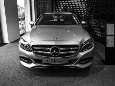 brugt Mercedes C200 d 2,1 D Business 7G-Tronic Plus 136HK 7g Aut. - Personbil - gråmetal