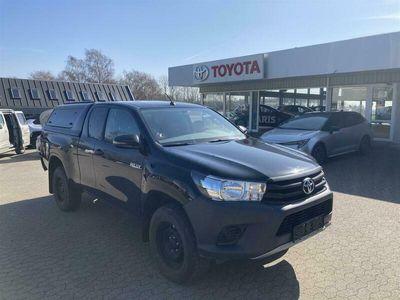 brugt Toyota HiLux Extra Cab 2,4 D-4D T2 4x4 150HK Pick-Up 6g D