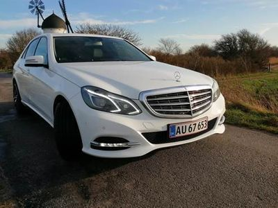 brugt Mercedes E200 W212 7g-tronic AMG Line
