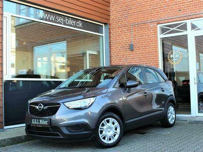 brugt Opel Crossland X 1,2 Edition+ 83HK 5d A+