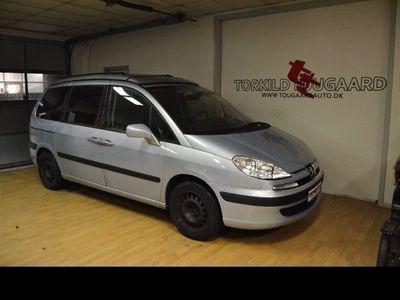 brugt Peugeot 807 2,2 HDi 130 ST
