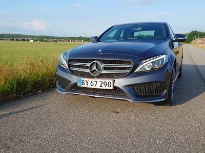 brugt Mercedes C200 2,0 AMG line auto, 4d