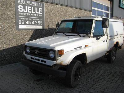 brugt Toyota Land Cruiser HZJ75 4,2 D 4WD 131HK Pick-Up