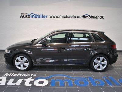 brugt Audi A3 Sportback 1,4 TFSi 122 Ambition