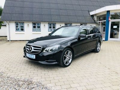 brugt Mercedes E350 0 BlueTEC AMG Line stc. aut.