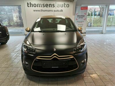 brugt Citroën DS3 1,6 THP 207 Racing Gold Edition
